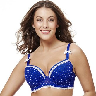 Perfects australia bra: christina curve it up balconette t-shirt bra 14ubr53 - women's