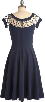 Tatyana With Only a Wink Dress in Navy
