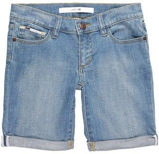 Joe's Jeans Girls' Bermuda Cuff in Patricia (Big Kids) (Patricia) - Apparel