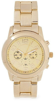 Forever 21 menswear-inspired chronograph watch