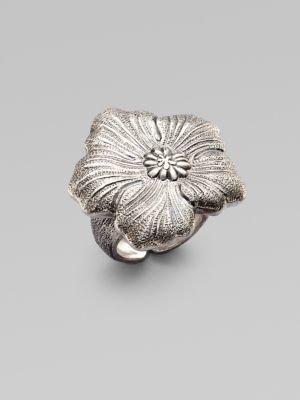Buccellati Blossom Sterling Silver Ring