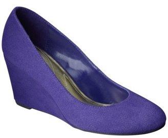 Merona Melinda Wedge Pumps Purple