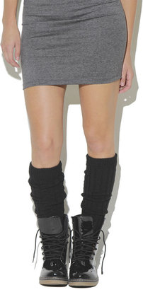 Wet Seal Cable Rib Leg Warmer