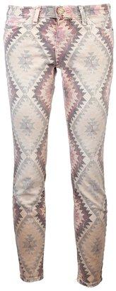 Current/Elliott printed stiletto jean