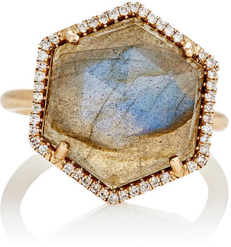 Irene Neuwirth Women's Mixed-Gemstone Hexagonal-Faced Ring