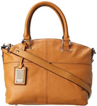 Tignanello Women's Polished Pockets T92910 Convertible Satchel