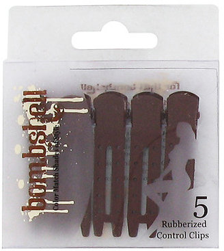 Bombshell Brunette Collection Rubberized Control Clips