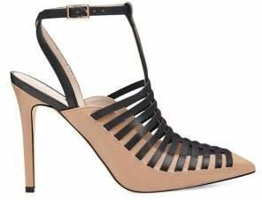 Nine West Tlank Leather Ankle-Strap Pumps