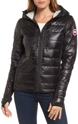 Women's Canada Goose 'Hybridge Lite' Slim Fit Hooded Packable Down Jacket $575 thestylecure.com