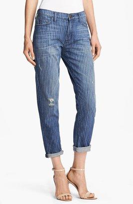 Current/Elliott 'The Fling' Pinstripe Jeans