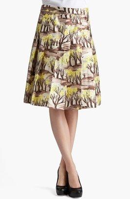 Marni Forest Print Pleated Radzimir Skirt