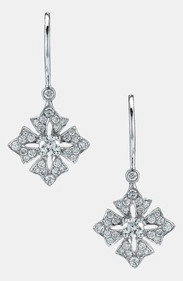 Kwiat Maltese Cross Drop Earrings