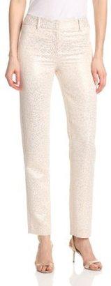Pink Tartan Women's Gold Elizabeth Pant