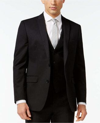 Bar Iii Black Solid Slim-Fit Jacket $425 thestylecure.com