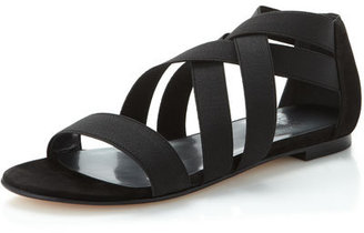 Stuart Weitzman Experience Sandal, Black