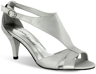 PeepToe Easy street eclipse peep-toe dress heels - women