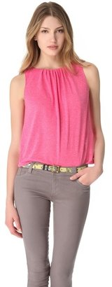 Alice + Olivia AIR by Gathered Neck Tank