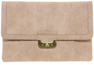 Asos Chunky Lock Portfolio Clutch Bag
