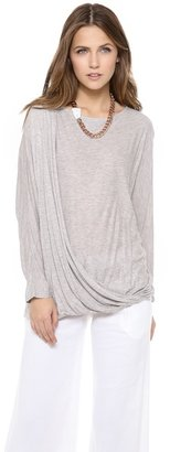 Alice + Olivia AIR by Draped Dolman Top
