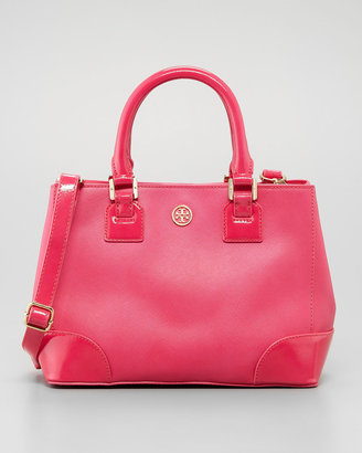 Tory Burch Robinson Mini Square Tote Bag, Pink