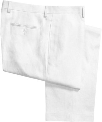 Lauren Ralph Lauren Lauren by Ralph Lauren Linen Pants - Flat Front (For Men)
