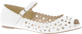 Asos JASMINE Peep Toe Ballet Flats