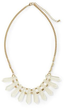 Private Label Hive & Honey Clear Spikes Necklace