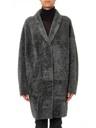 32 Paradis Sprung Frères Hetre reversible lambskin coat