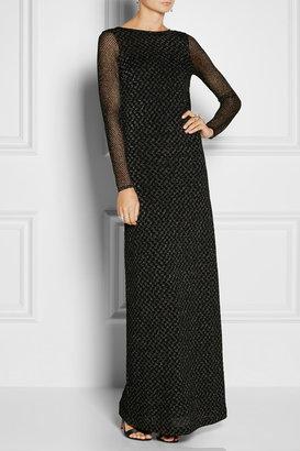 Missoni Cutout-back crochet-knit gown