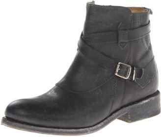 Frye Women's Jayden Cross Strap Motorcycle Boot