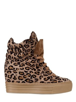 ShoeBAR 90mm Suede Leopard High
