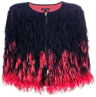 Juicy Couture fringed jacket