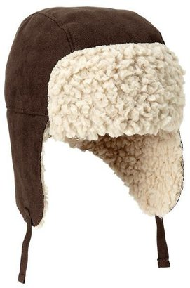 Gap Shearling trapper hat