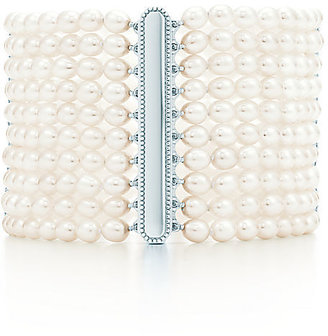 Tiffany & Co. Ziegfeld Collection:10-row Pearl Bracelet