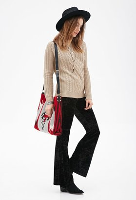 FOREVER 21 Cable-Knit Sweater $19.90 thestylecure.com