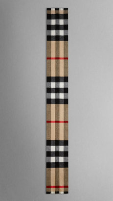 Burberry Exploded Check Cashmere Scarf