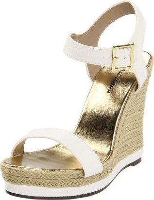 Michael Antonio Women's Goldy-Rep Wedge Sandal