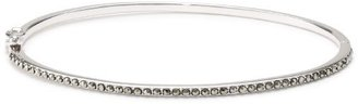 Judith Jack Sterling Silver Marcasite Pave Hinged Bangle Bracelet $60 thestylecure.com