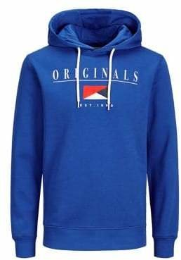 Jack and Jones Graphic Drawstring Hoodie