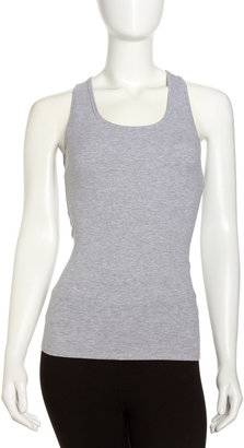 Yummie Tummie Yolene Ribbed Tank, Heather Gray