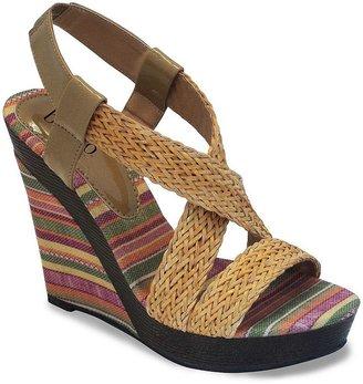 JLO by Jennifer Lopez Bucco albina platform wedge sandals - women