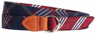 Brooks Brothers Kiel James Patrick BB#1 Stripe and Signature Tartan Belt