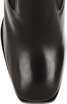 Alaia Leather ankle boots
