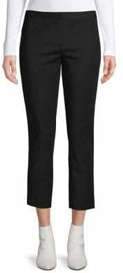 Theory Cropped Straight Pants