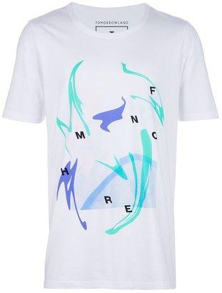 B Store X Tomorrowland printed t-shirt