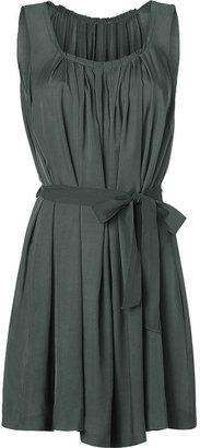 Twenty8Twelve Raven Pleated Belted Dress