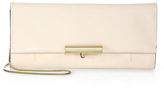 Reed Krakoff Patent Leather Standard T-Pin Clutch