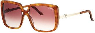 Nina Ricci NR 3221 Square Sunglasses, Light Tortoiseshell