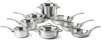 Calphalon Contemporary Stainless 13 Piece Cookware Set