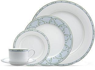 Nikko Dinnerware, Perennial Green 5 Piece Place Setting